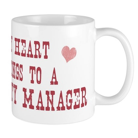 Belongs to Property Manager Mug