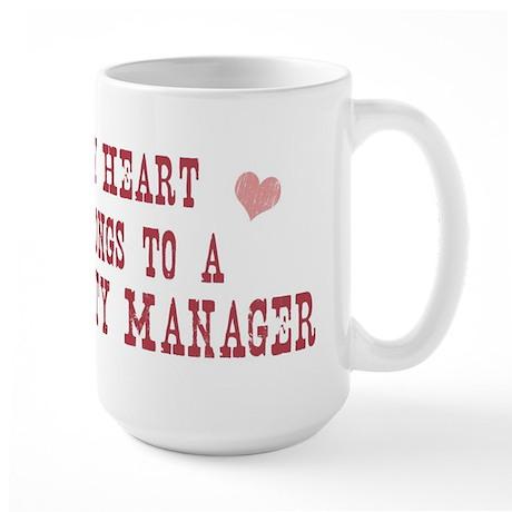 Belongs to Property Manager Large Mug