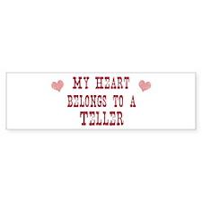Belongs to Teller Bumper Bumper Sticker