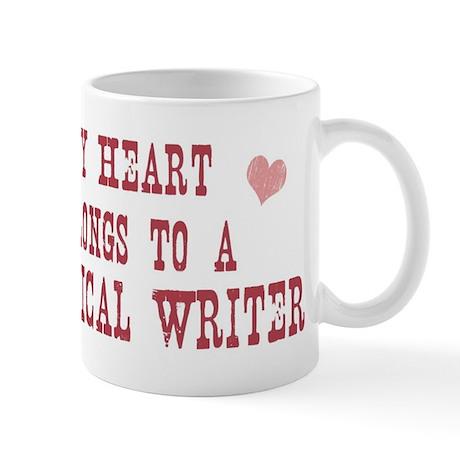 Belongs to Technical Writer Mug