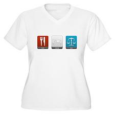 Eat, Sleep, Law T-Shirt
