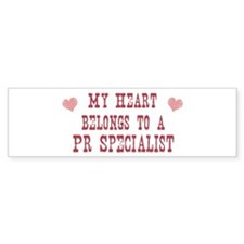 Belongs to Pr Specialist Bumper Bumper Sticker