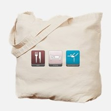 Eat, Sleep, Gymnastics Tote Bag
