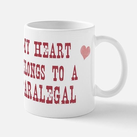 Belongs to Paralegal Mug