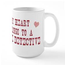 Belongs to Police Detective Mug