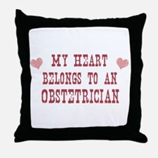 Belongs to Obstetrician Throw Pillow