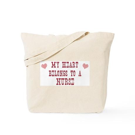 Belongs to Nurse Tote Bag