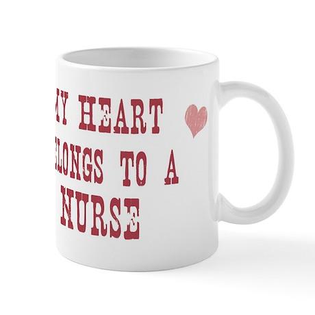Belongs to Nurse Mug