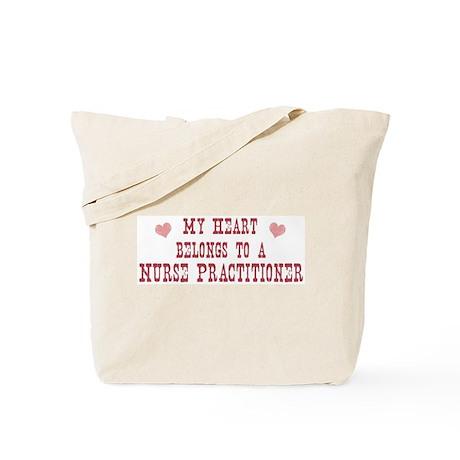 Belongs to Nurse Practitioner Tote Bag
