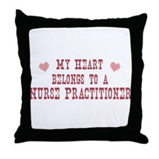 Belongs to Nurse Practitioner Throw Pillow