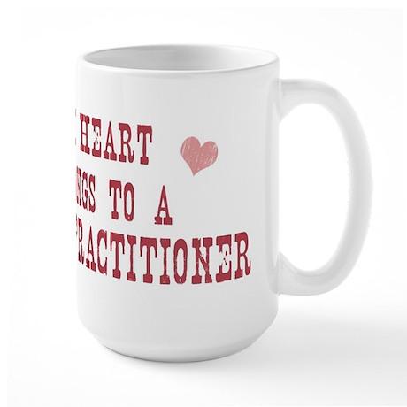 Belongs to Nurse Practitioner Large Mug