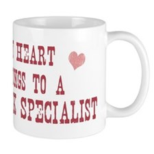 Belongs to Network Specialist Small Mug