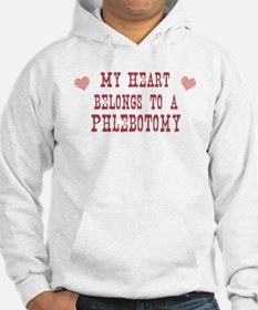 Belongs to Phlebotomy Hoodie