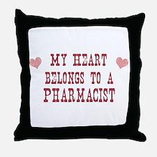 Belongs to Pharmacist Throw Pillow