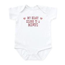 Belongs to Midwife Infant Bodysuit