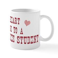 Belongs to Peace Studies Stud Mug