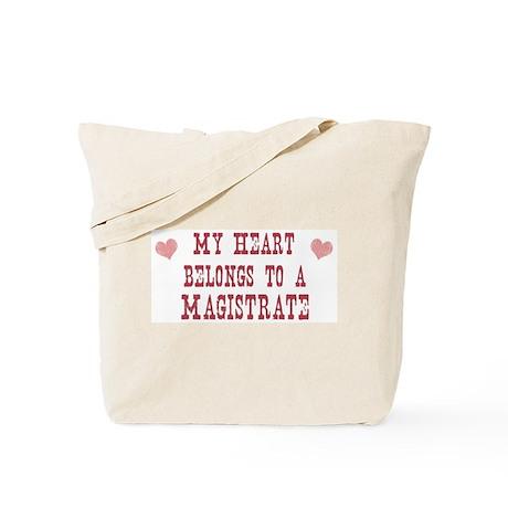 Belongs to Magistrate Tote Bag