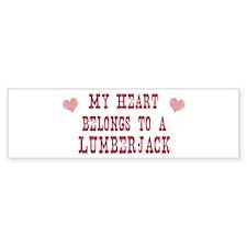 Belongs to Lumberjack Bumper Bumper Sticker