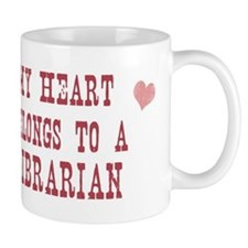 Belongs to Librarian Small Mug