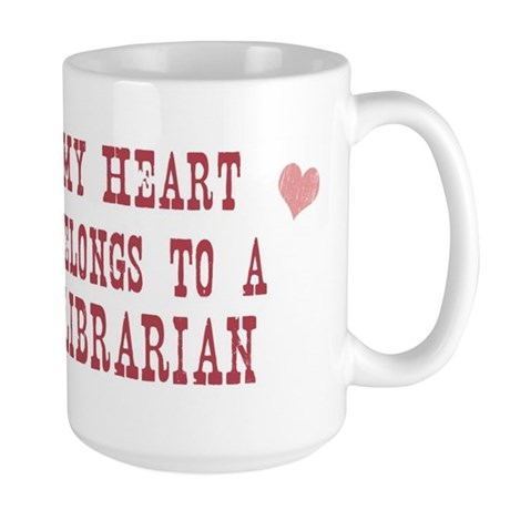 Belongs to Librarian Large Mug