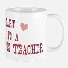 Belongs to Language Arts Teac Mug