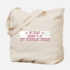 Belongs to Info Technology St Tote Bag