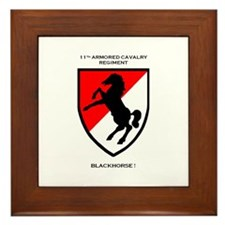 Blackhorse Framed Tile