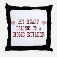 Belongs to Home Builder Throw Pillow