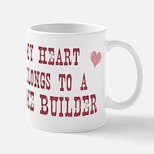 Belongs to Home Builder Small Small Mug