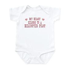 Belongs to Helicopter Pilot Infant Bodysuit
