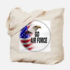 Go Air Force Tote Bag
