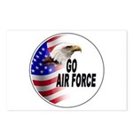 Go Air Force Postcards (Package of 8)