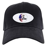 Go Air Force Black Cap