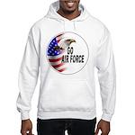 Go Air Force Hooded Sweatshirt