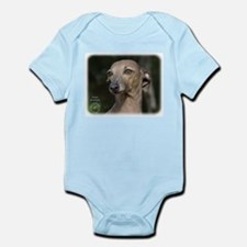 Italian Greyhound 9K74D-11 Infant Bodysuit