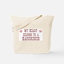 Belongs to Hairdresser Tote Bag