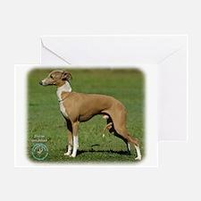Italian Greyhound 9R031D-036 Greeting Card