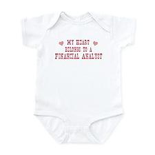 Belongs to Financial Analyst Infant Bodysuit