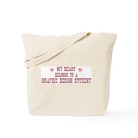 Belongs to Graphic Design Stu Tote Bag