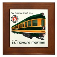 St. Nicholas Mountain Framed Tile