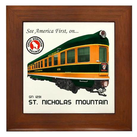 St. Nicholas Mountain Framed Tile