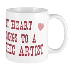Belongs to Graphic Artist Mug