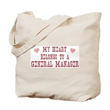 Belongs to General Manager Tote Bag
