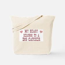 Belongs to Dog Catcher Tote Bag