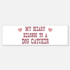 Belongs to Dog Catcher Bumper Bumper Bumper Sticker