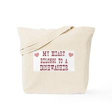 Belongs to Dishwasher Tote Bag