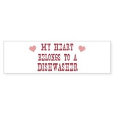 Belongs to Dishwasher Bumper Bumper Sticker