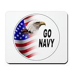 Go Navy Mousepad