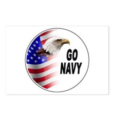 Go Navy Postcards (Package of 8)