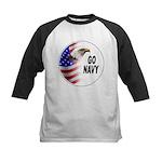 Go Navy Kids Baseball Jersey
